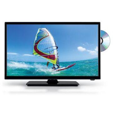 Tv Telesystem Palco19 Led09 Combo Dvb T2/S2 Hevc 10 Bit Con Lettore Dvd Integrato
