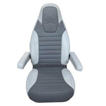 Set 2 Fodere Sedili Cabina In Eco-Pelle Per Ford Dal 2014