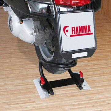 Bloccaruota Fiamma Moto Wheel Chock Rear - Bricocamp