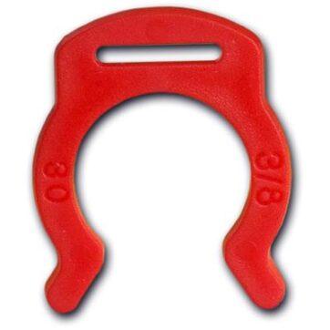 Clip Fissaggio Rosso