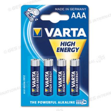 Batteria alcalina 1,5V tipo AAA Varta