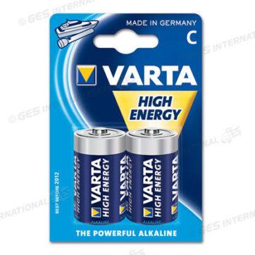 Batteria alcalina tipo C Varta 1,5V