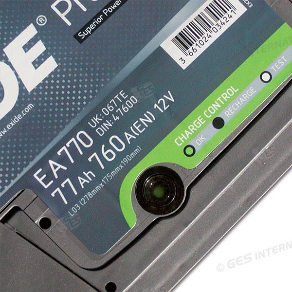 Batteria PREMIUM avviamento/servizi 12V 77Ah