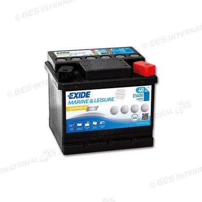 Batteria Exide GEL avviamento e servizi 12V 40 Ah