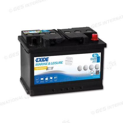 Batteria Exide GEL avviamento e servizi 56 Ah