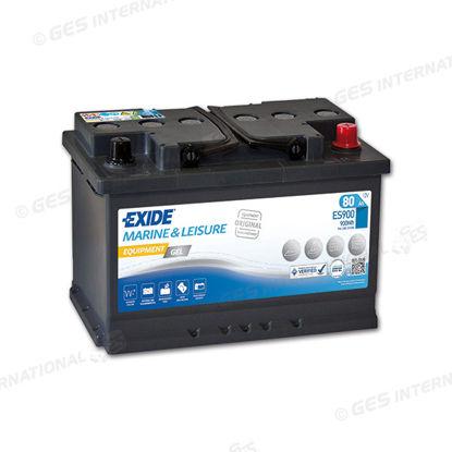 Batteria GEL per servizi camper Exide 12V 80 Ah