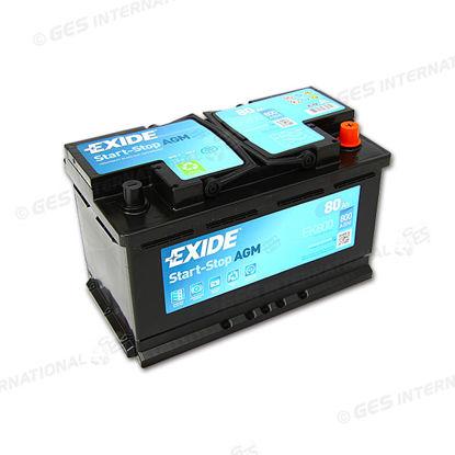Batteria Exide AGM 12V 80 Ah