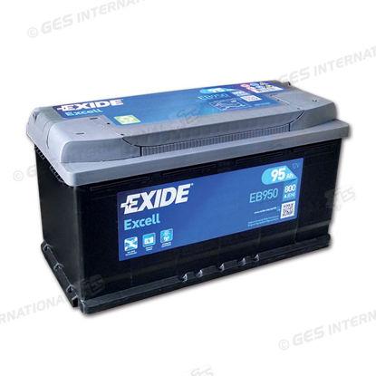 Batteria Exide EB950 Excell 12V 800Ah/EN