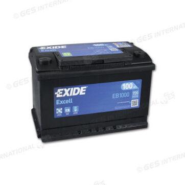 Batteria Exide EG1000 Excell 12V 100Ah