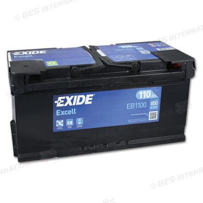 Batteria Exide EB 1100 Excell LB3 12V 110 Ah