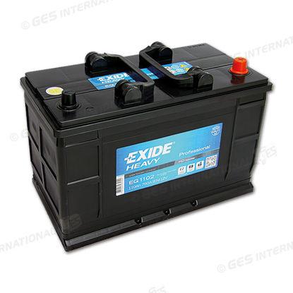 Batteria Exide EG 1102 Excell LB3 12V 110 Ah