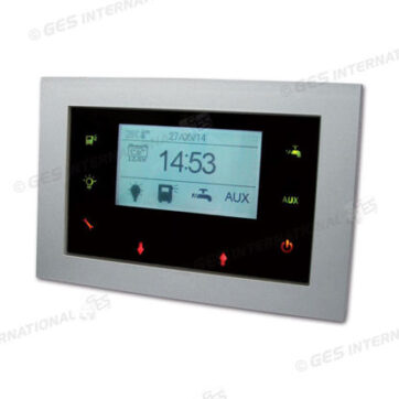 Pannello touch con display LCD