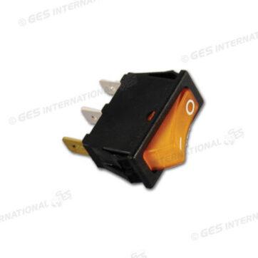 Interruttore luminoso arancio 220V