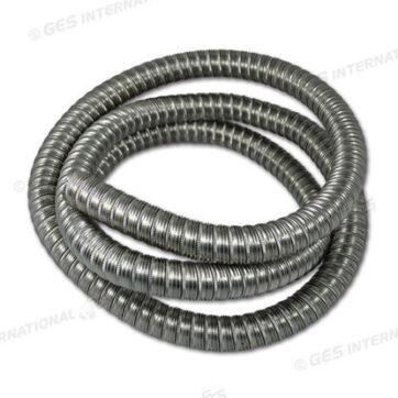 Tubo flessibile in acciaio per scarico generatore Ø 25mm 2m