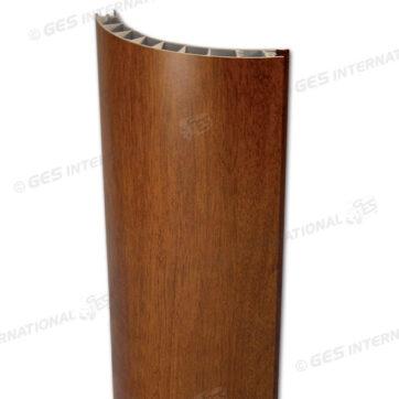 Profilo angolare PVC marrone - 90° 2,5 m