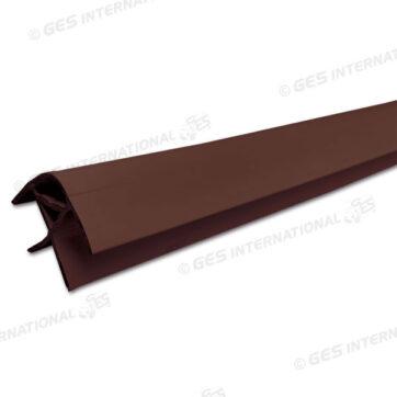 Profilo angolare marrone da 2,2 m