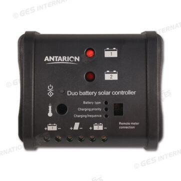 Regolatore di carica per due batterie