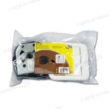 Serratura Protek bianca completa in sacchetto