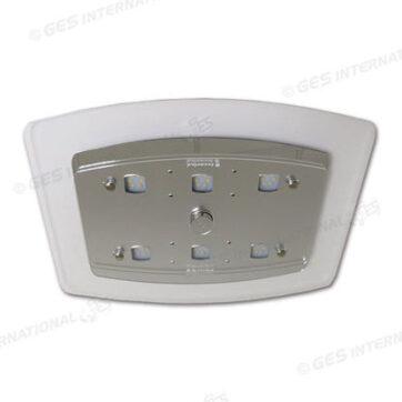 Plafoniera Reference 36 LED con luce blu