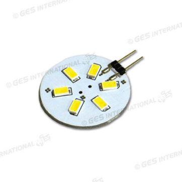 Lampadina G4 6 LED bianco caldo 166 lm