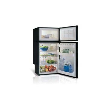 Frigorifero a Compressore DP150i Frigo-Freezer Vitrifrigo DP150i (unità refrigerante interna) Frigo-freezer a compressore Dati tecnici: CONSUMO ENERGIA: 65W. ALIMENTAZIONE: 12/24Vdc (disponibile anche con centralina bivalente 12/24Vdc - 100-240Vac 50/60Hz). DIM.(HxLxP): 1095 x 525 x 530. PESO: 43 Kg. VOLUME FREEZER: 102 litri. Volume lordo: 150 litri.