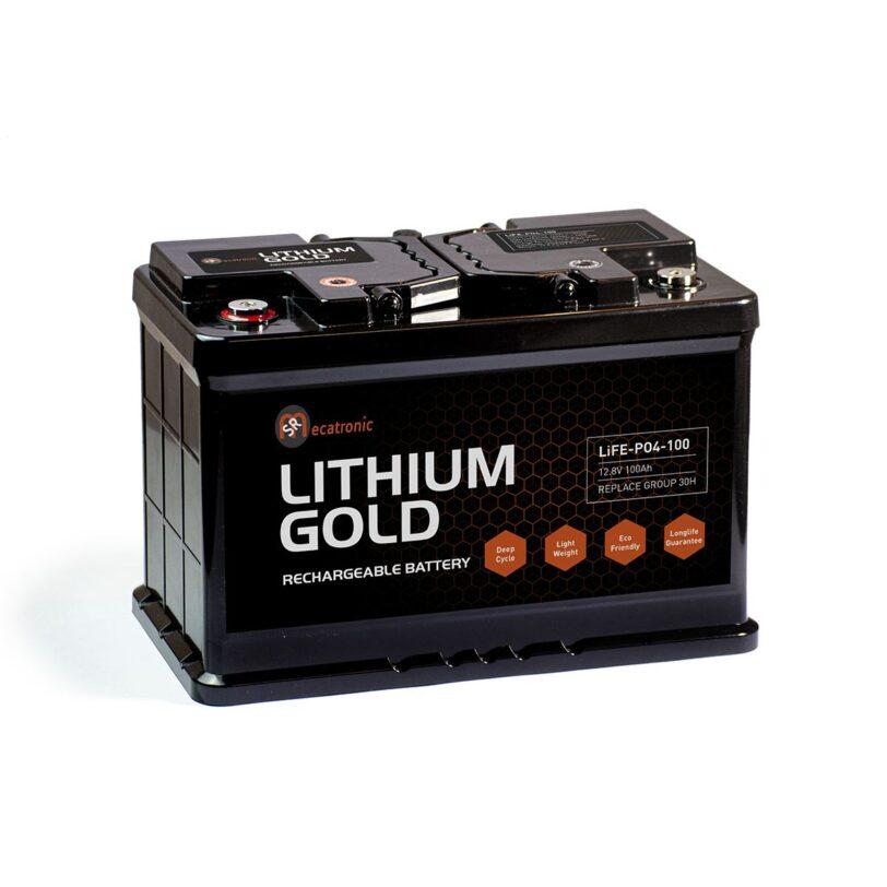 BATTERIA LITHIUM GOLD MECATRONIC