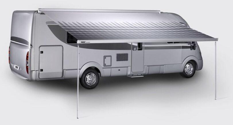 Tendalino per Camper Thule Omnistor 8000 Bianco 600 Mystic Grey
