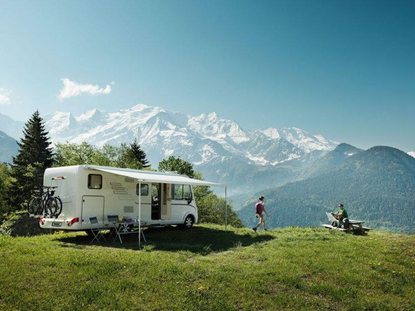 Tendalino per Camper Thule Omnistor 8000 Bianca 400 Sapphire Blue