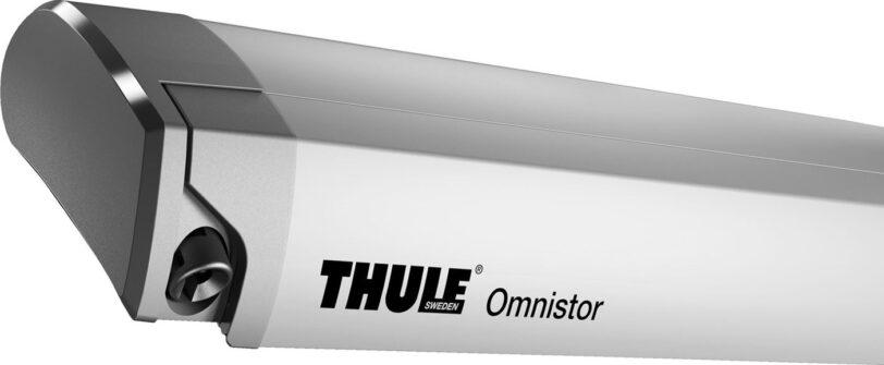 Veranda da Tetto Thule Omnistor 9200 Anodizzata 4,50 Metri con Telo Mystic Grey