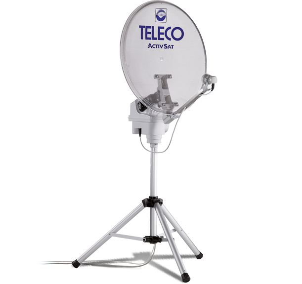 Antenna Satellitare Teleco Activsat 85T Twin LNB