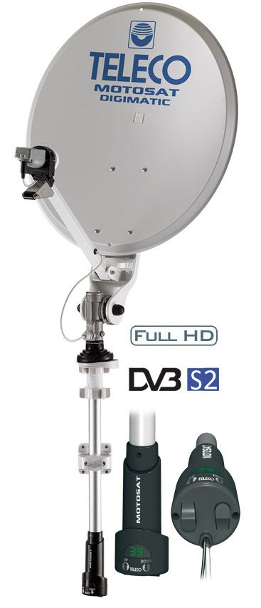 Antenna Satellitare per Camper Teleco MotoSat DigiMatic SM