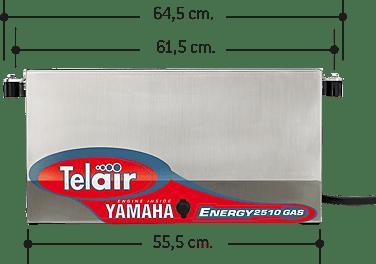 Teleco Telair Energy 2510G YAMAHA con ASP