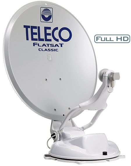 Antenna Satellitare Automatica Teleco FlatSat Classic BT