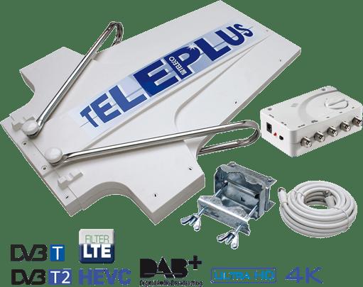 Antenna Digitale Terrestre per Camper Teleco Teleplus