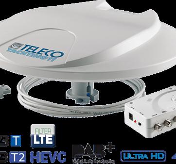 Antenna Digitale Terrestre per Camper Teleco Yachting 11