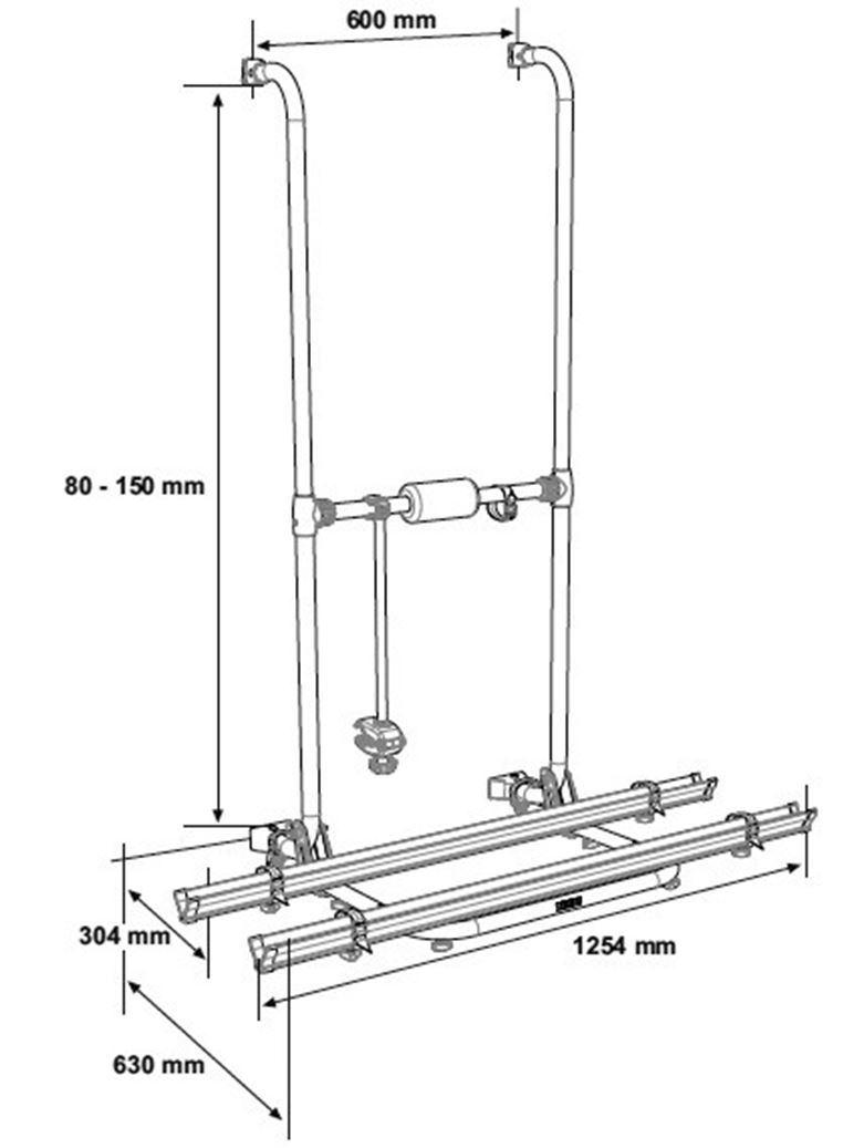 Portabici Thule Essential Standard
