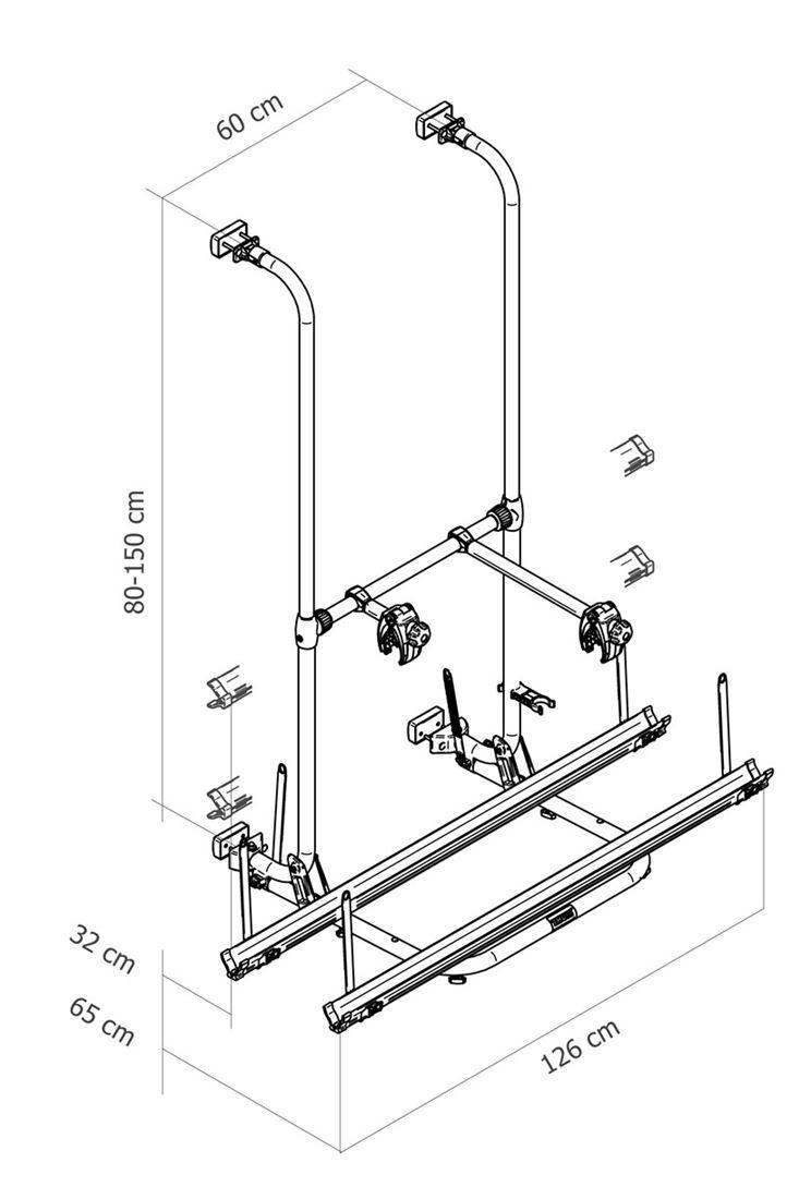 Portabici Thule Sport G2 Standard